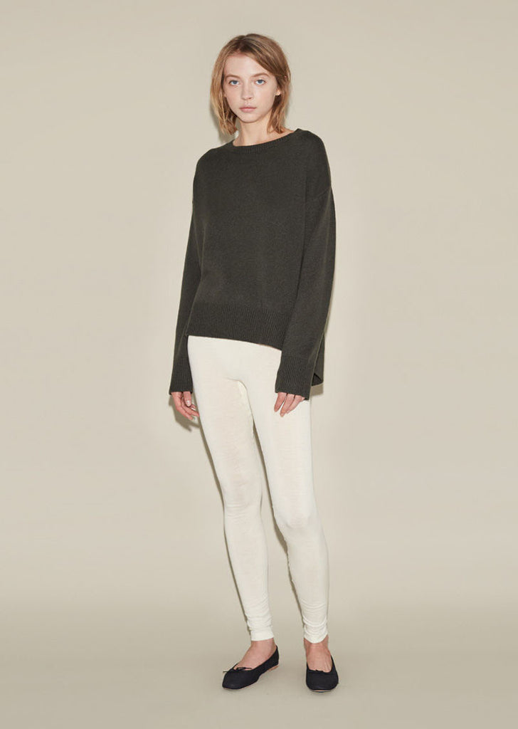 Woolen Silk Legging