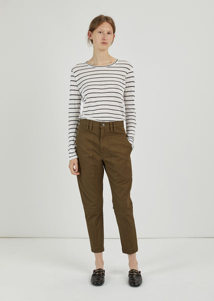 Griff High Waisted Gabardine Pants