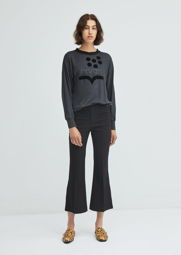 Nyree Pintuck Trousers