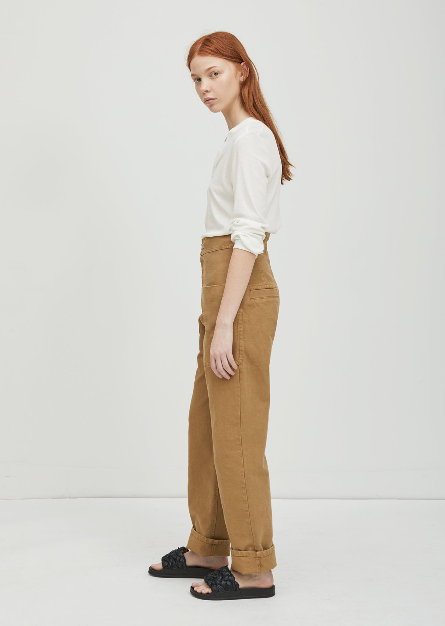 Lana Cotton Trouser