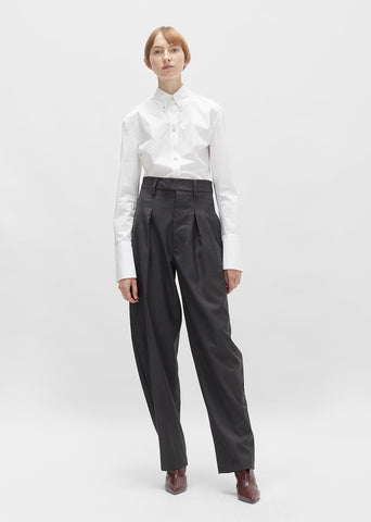Mexi Oversized Wool Trouser