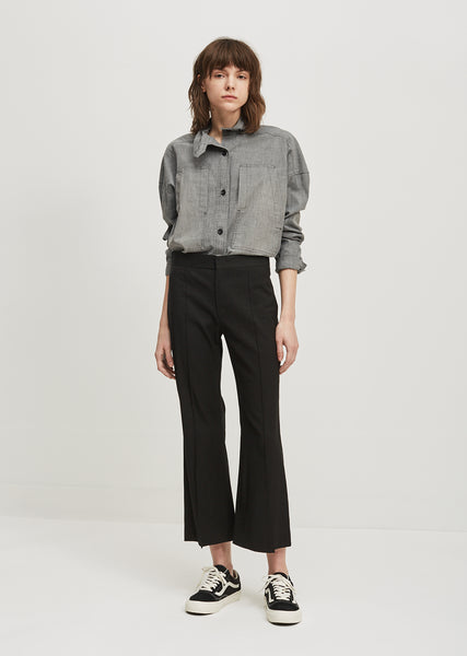 Reeves Stretch Linen Trouser