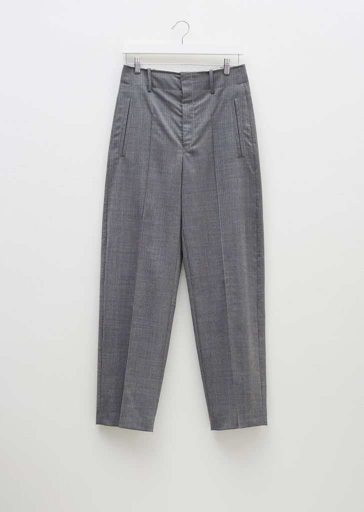 Hami High Waisted Loose Wool Trouser