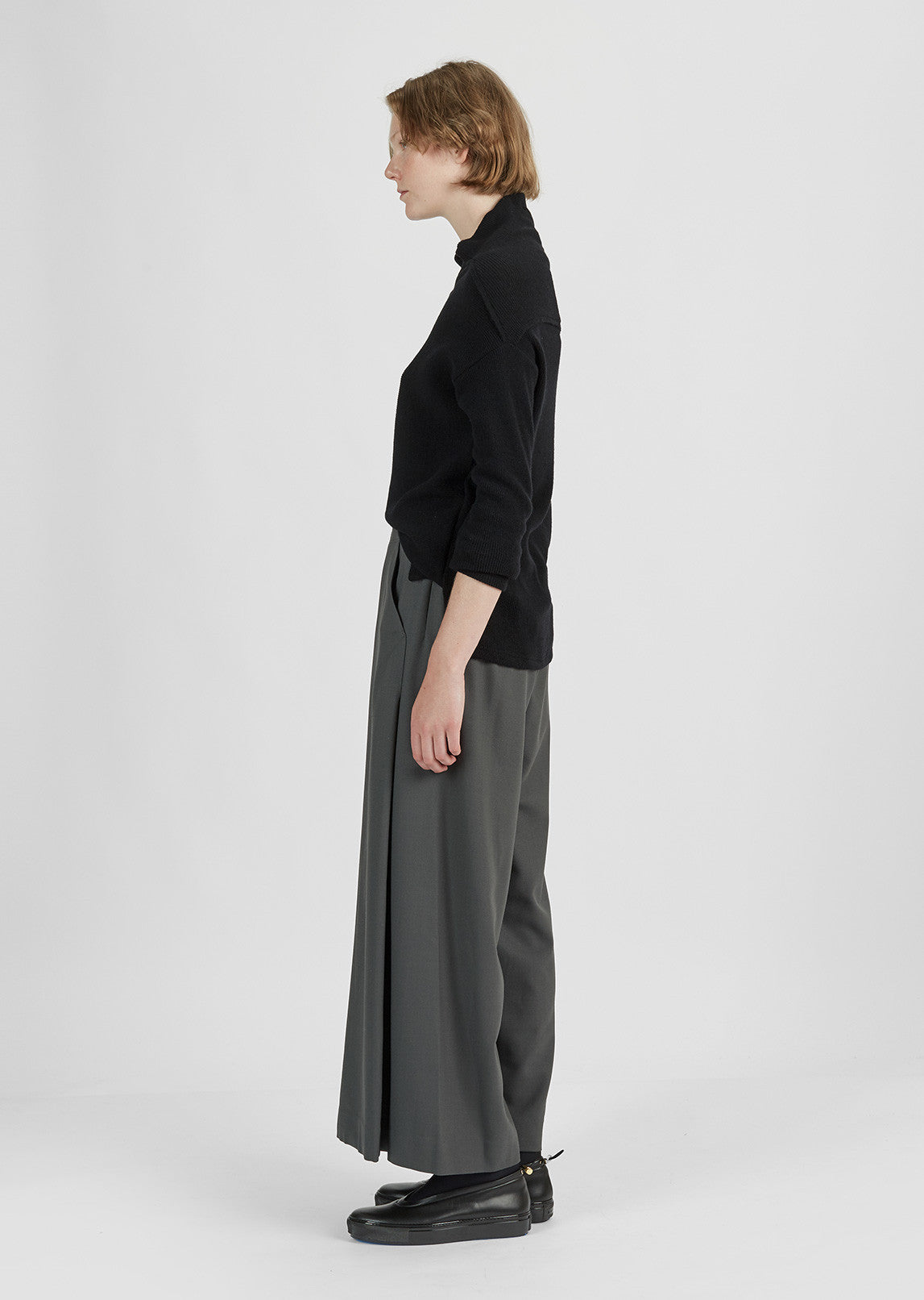 Wool Stretch Pants