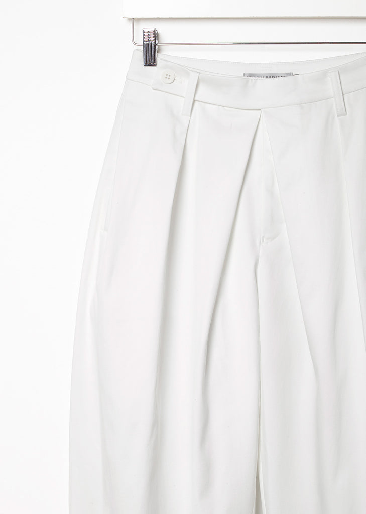 Cropped Cotton Stretch Pant