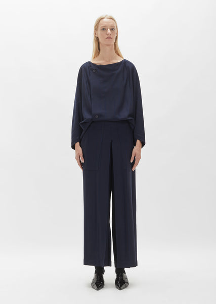 Parallel Jersey Wide Leg Pant