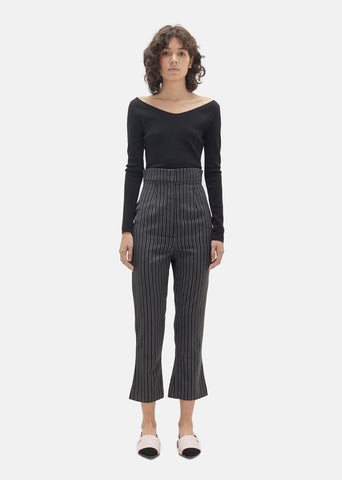 Wool Stripe Pant