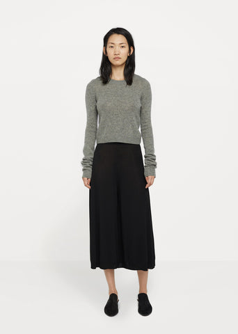 Highwaist Knit Trouser