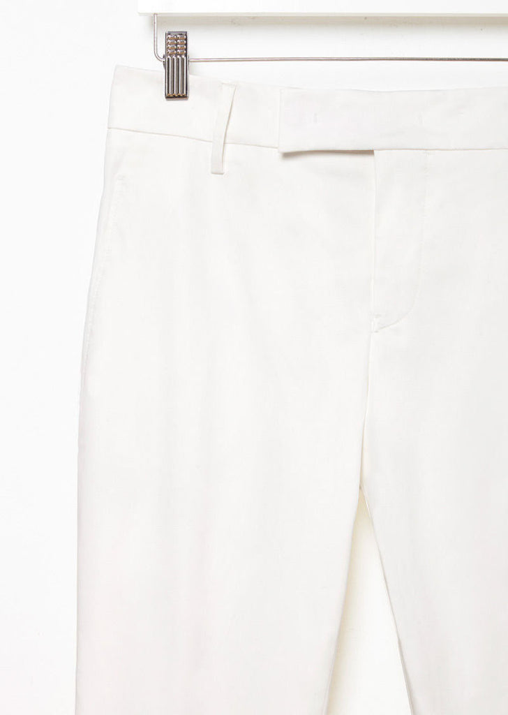 V-Pier Cotton Trouser