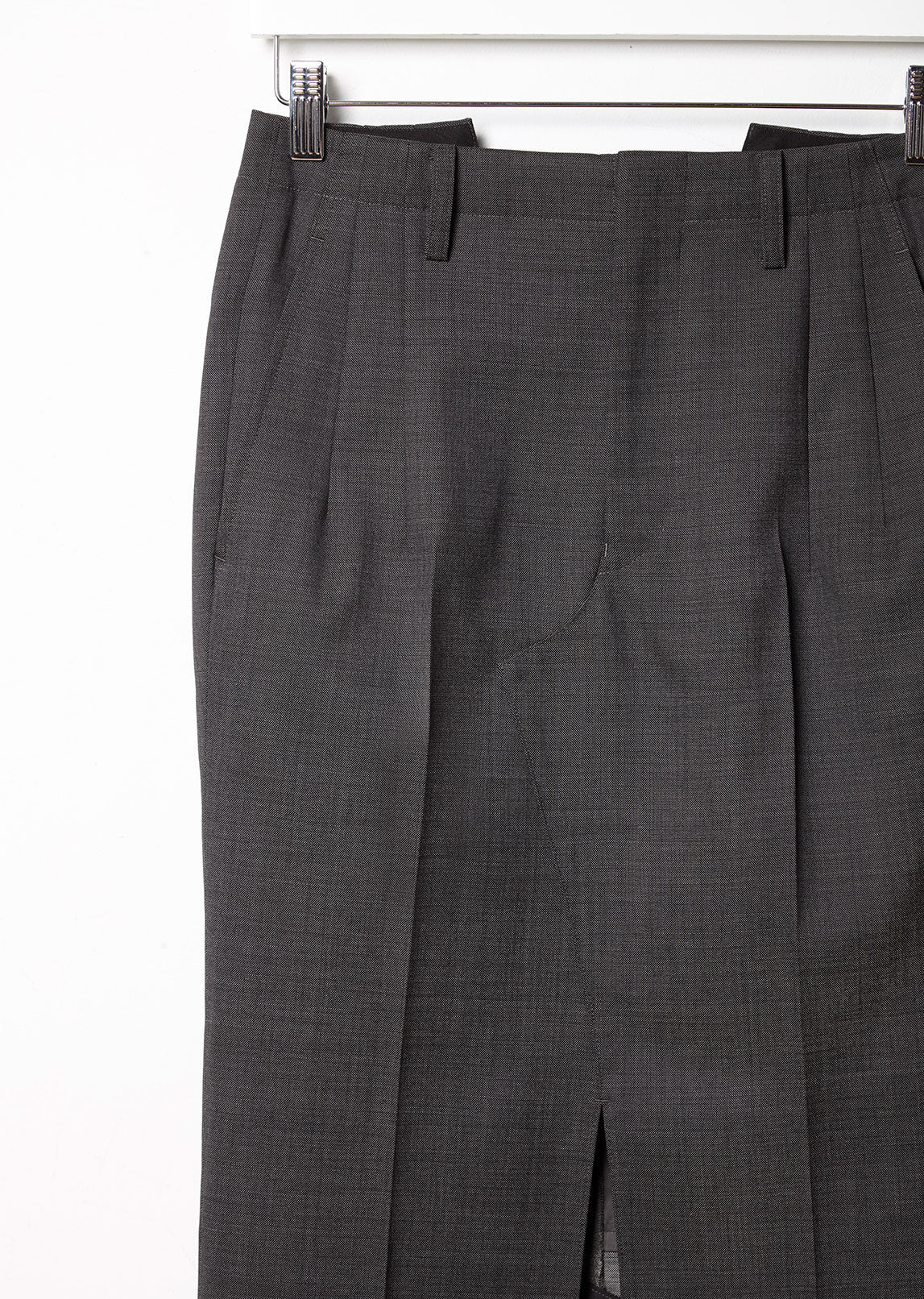 Wool Twill Skirt