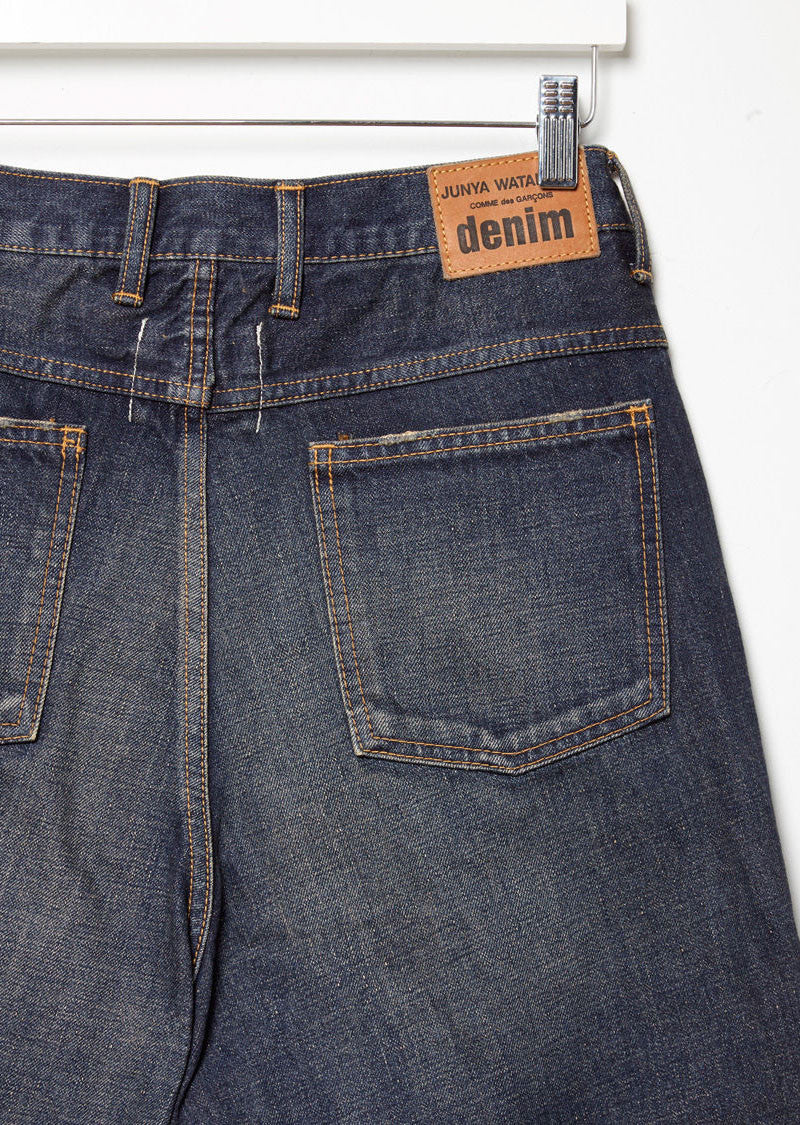 Vintage Treated Denim