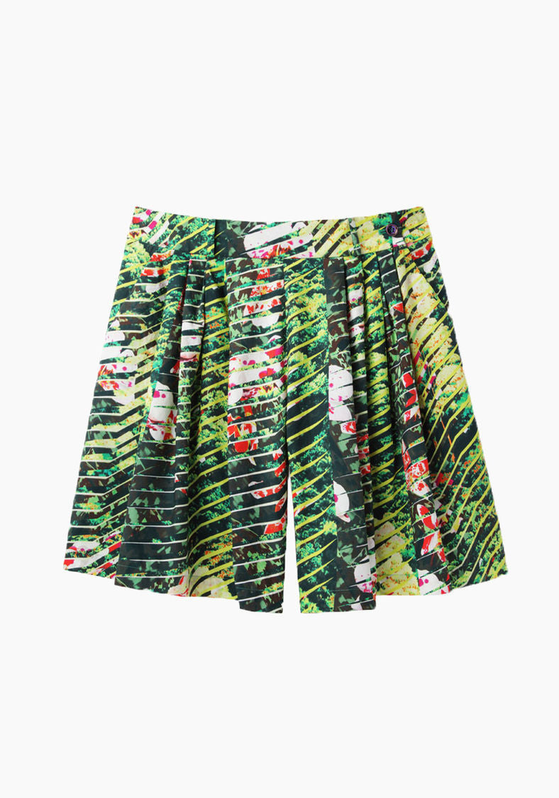 Rainbow Orchids Shorts