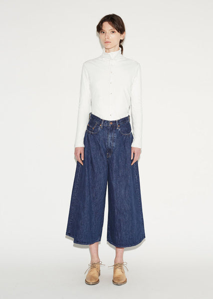 KAPITAL Denim Hakama Pants La Garconne