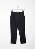 Cropped Cotton Trouser