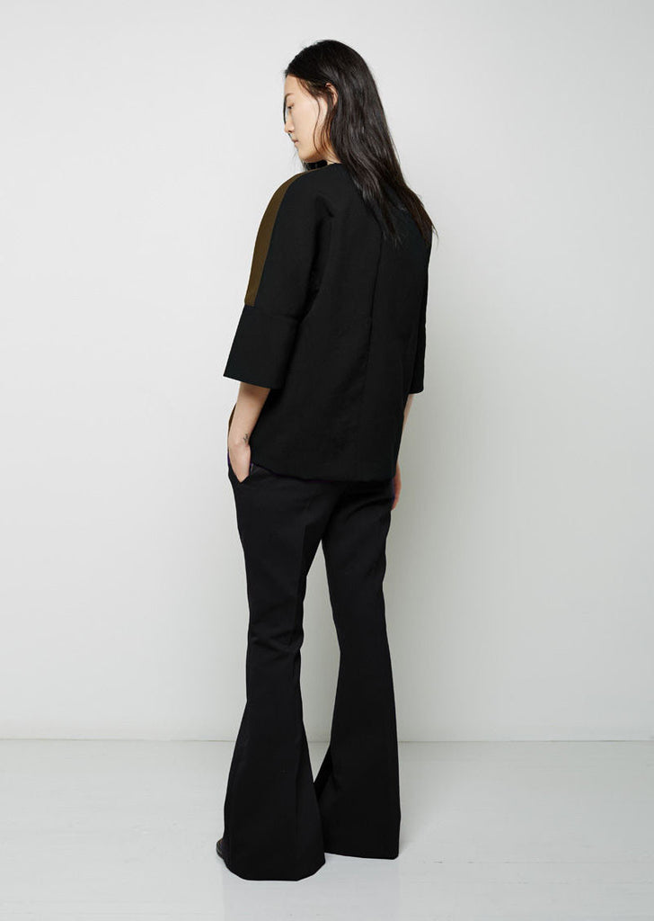 Double Crepe Bell Trouser