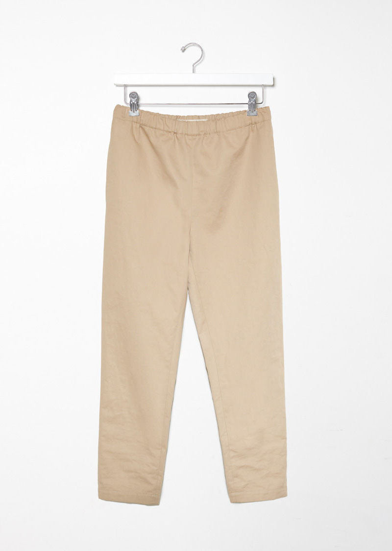 Cotton & Linen Signature Trousers