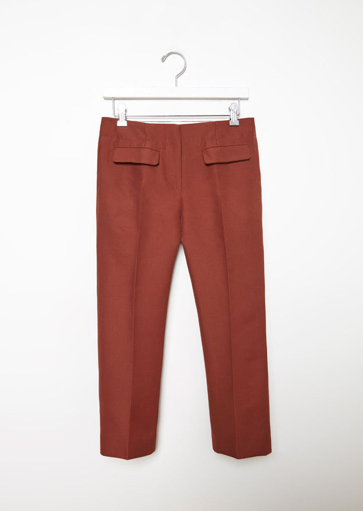 Cropped Cady Trouser