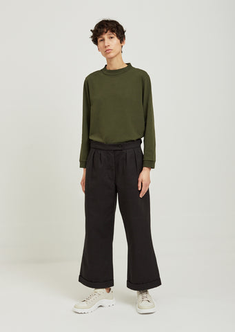 Uniform Cotton Trousers
