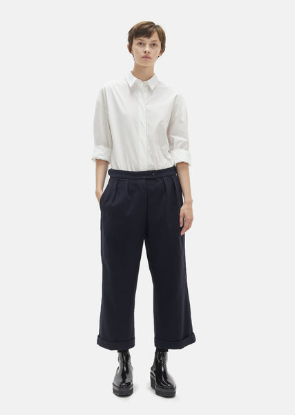 Wool Cotton Drill Trousers