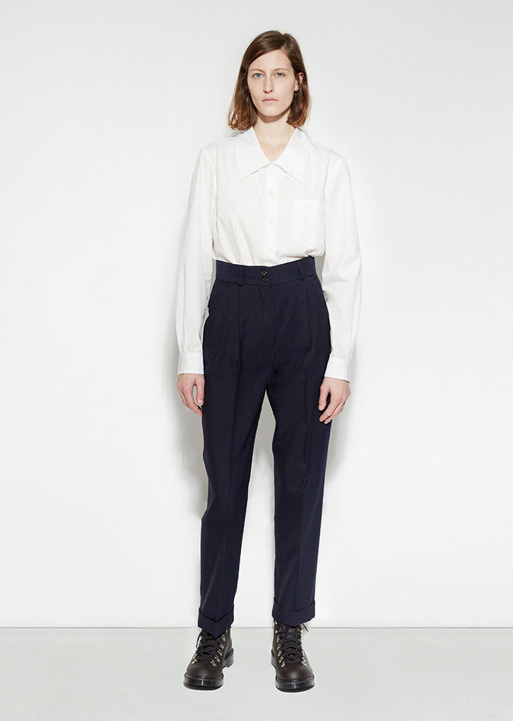 Pleat Pocket Trouser