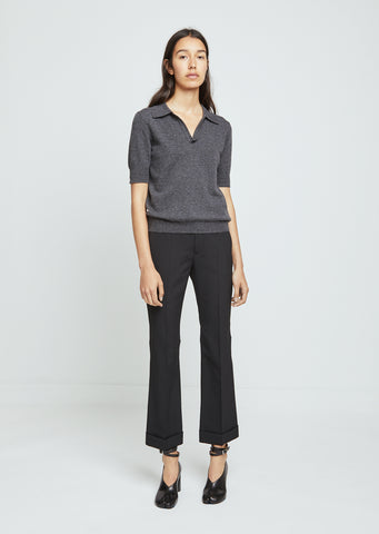 Mixed Wool Trousers