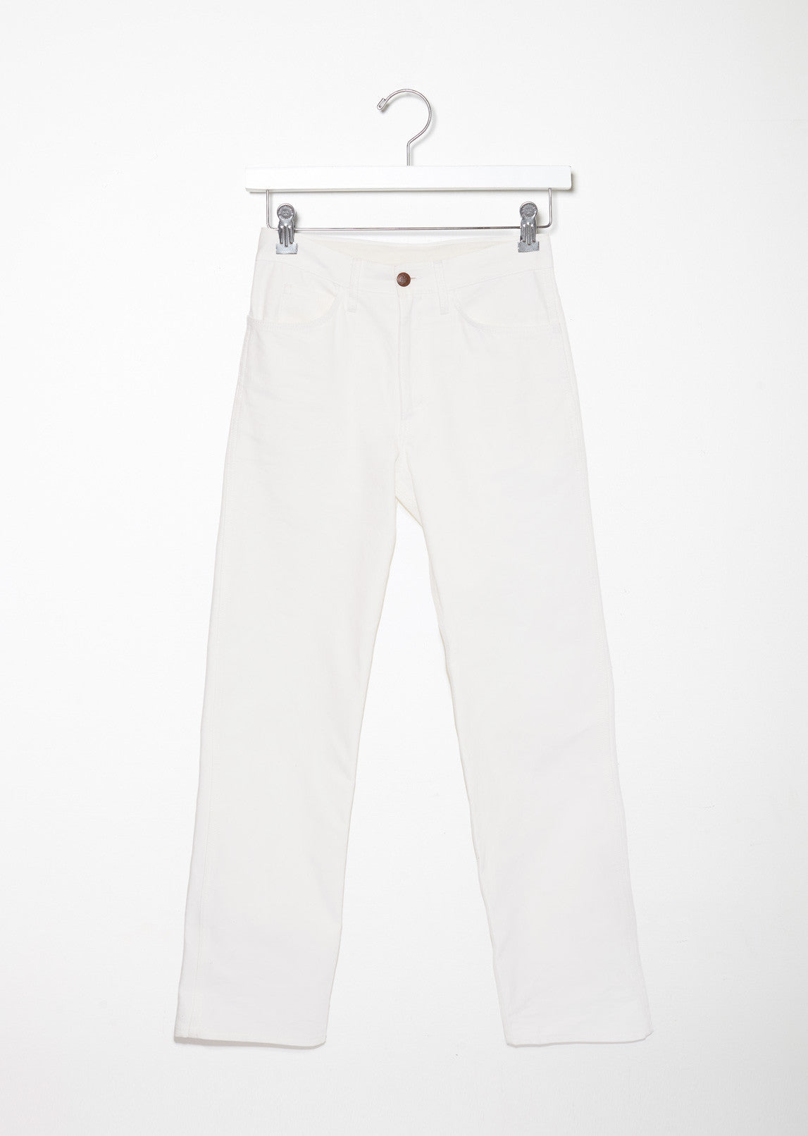Cotton Canvas Pants