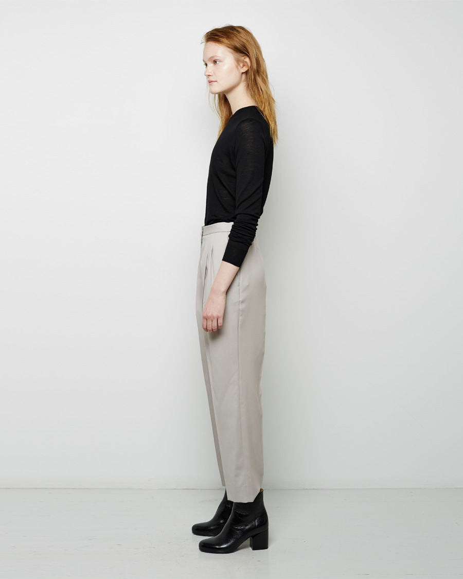 Cropped Twill Trouser