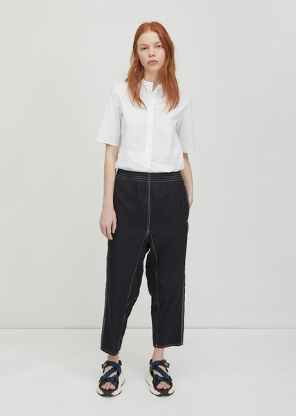 Structured Canvas Pants
