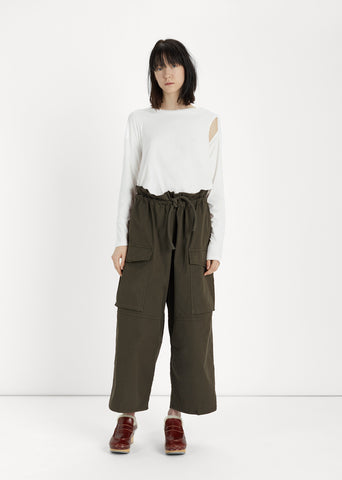 Military Cotton Dyed Pant