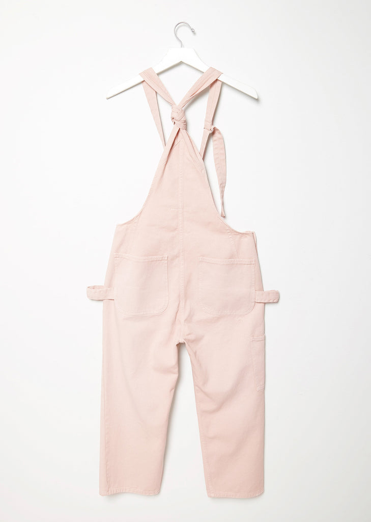 Used Garment Dyed Overalls