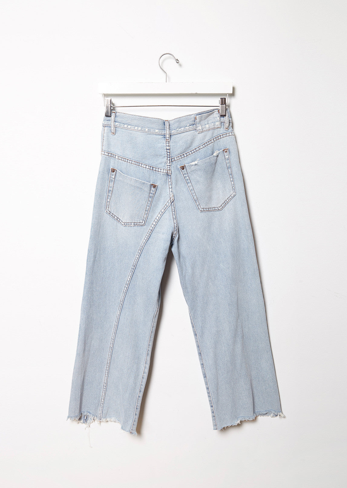 Bleached Destroyed Jeans