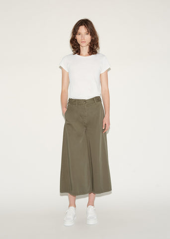 Washed Culotte