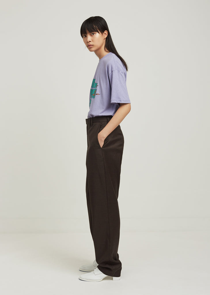 Oversized Suit Trousers