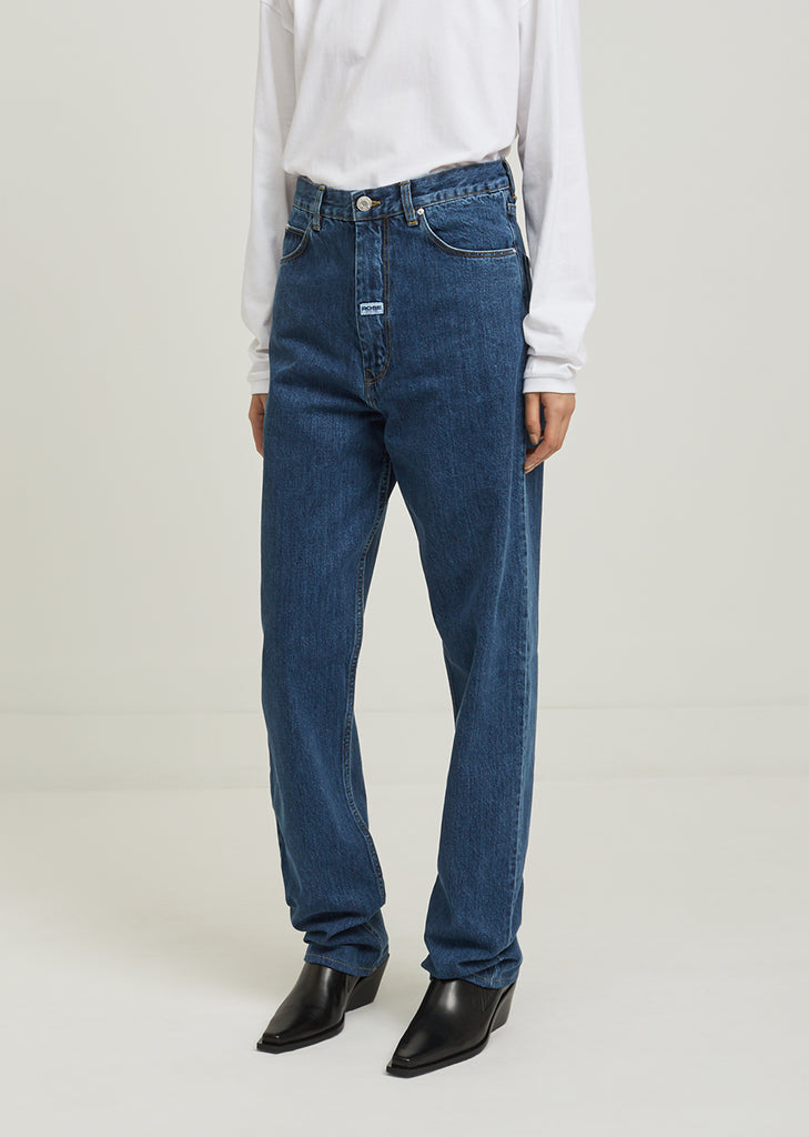 Denim High Waisted Jean