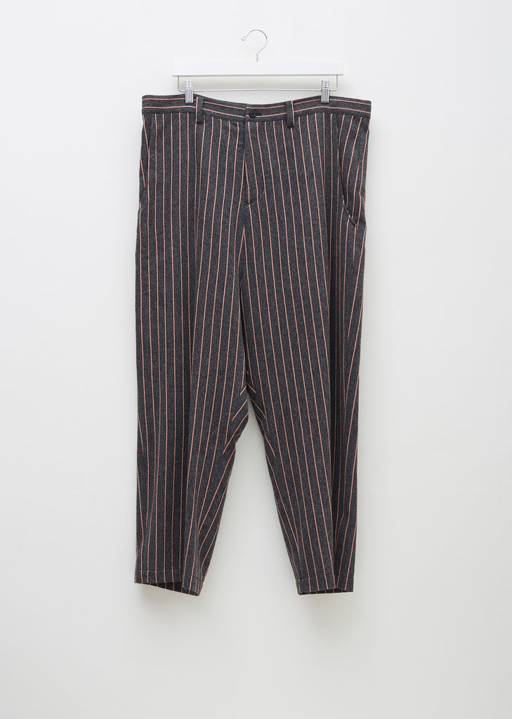 Pinstripe Paperbag Trousers