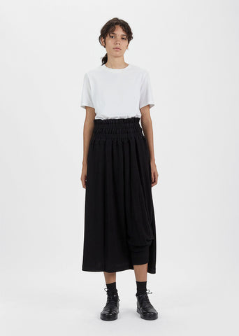 Asymmetric Ribbed Pant