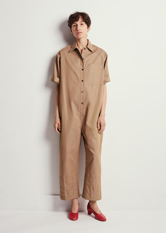 Odete Summer Trench Cotton Jumpsuit