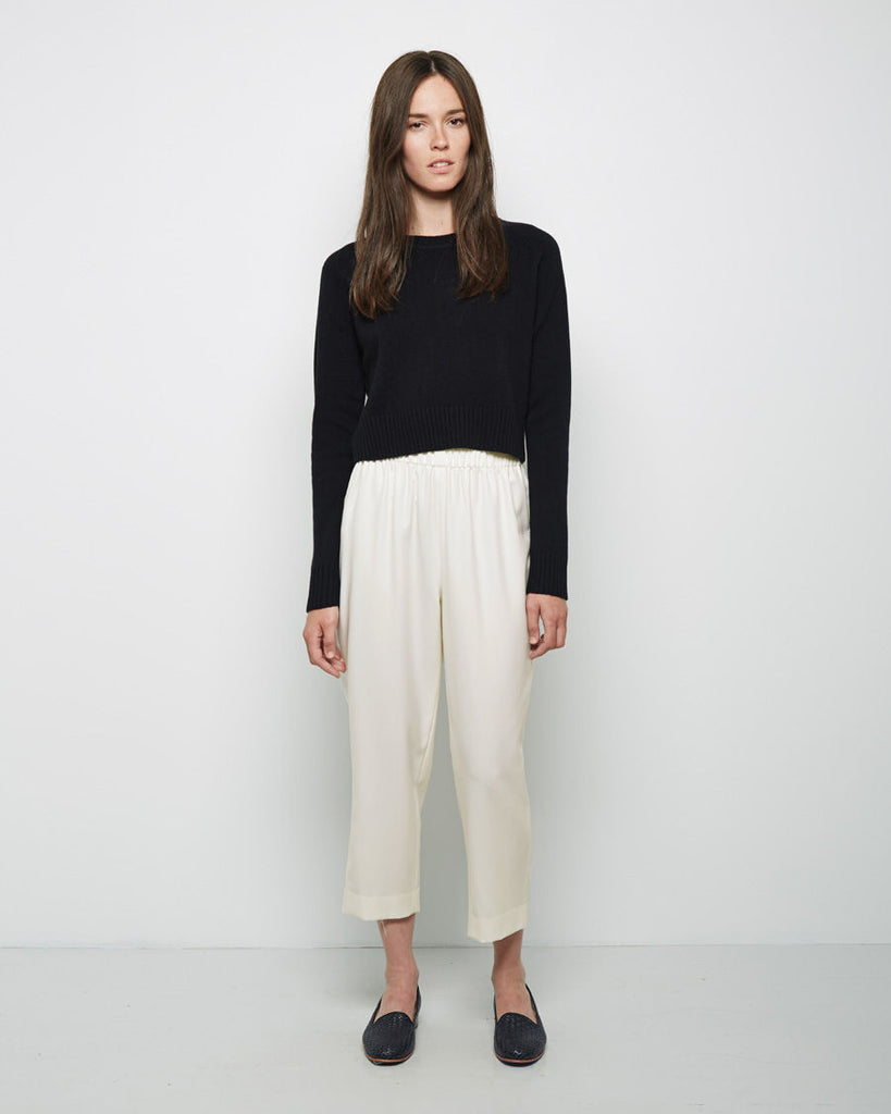 Two Pocket Cropped Pant