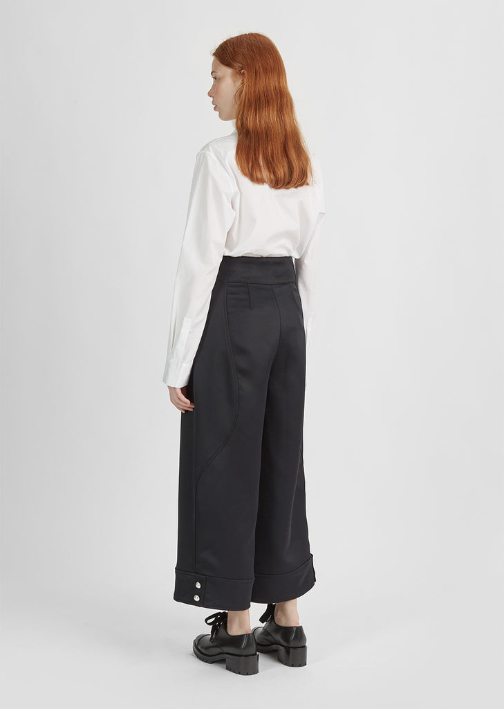 Structured Wide Leg Pant