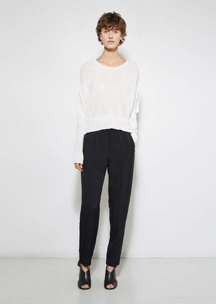 3.1 Phillip Lim Silk Pull-On Trouser La Garconne