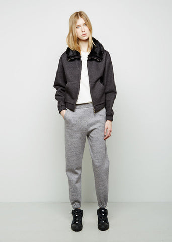 Sweatpant With Pointed Stitch Waistband