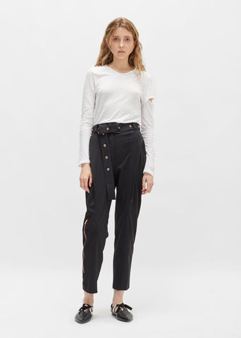 Lightweight Wool Tapered Trouser
