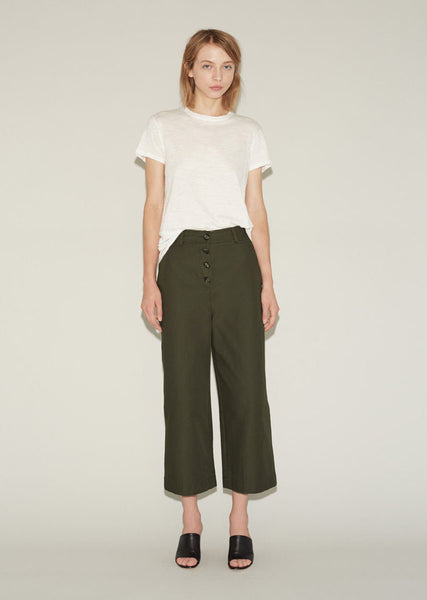 Cotton Canvas Culotte