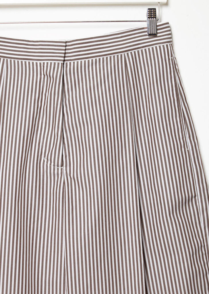 Stripe Cropped Trouser