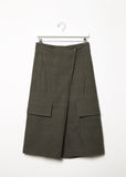 Midi Pocket Wrap Trouser