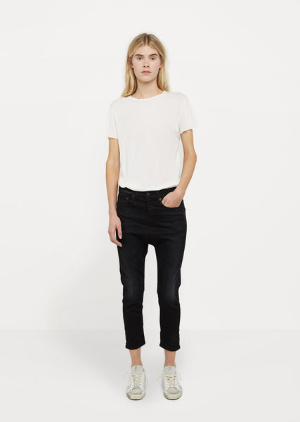 The Drop Crop Jeans