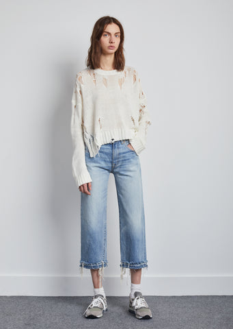 Camille Mason Blue Destroyed Jeans