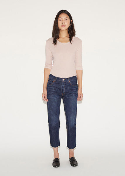 Re/Done Originals Relaxed Crop Jean La Garconne