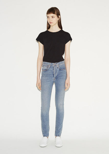 RE/DONE ORIGINALS Light Wash Stretch Jean La Garconne