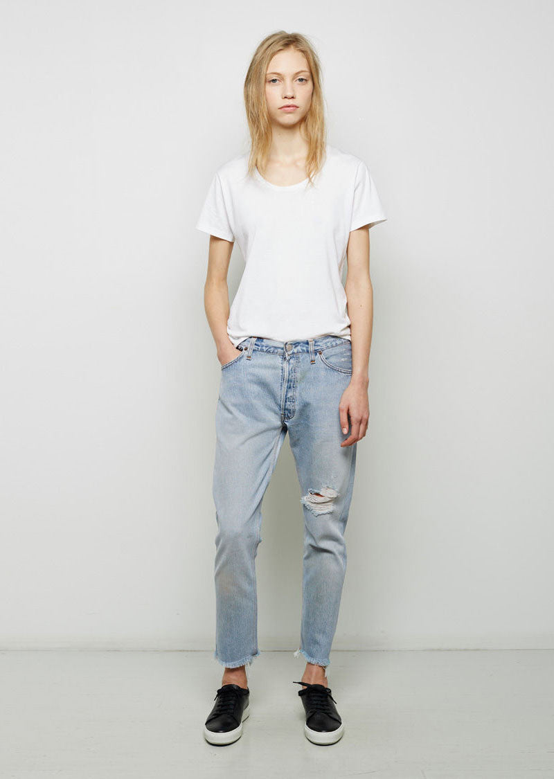 Relaxed Crop JeansRe/Done Vente Trouver Grand 5iR9H8